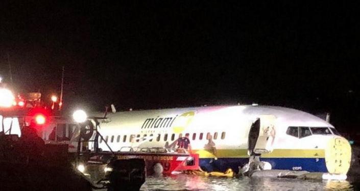 Nehoda dopravního letadla Boeing 737 na Floridě