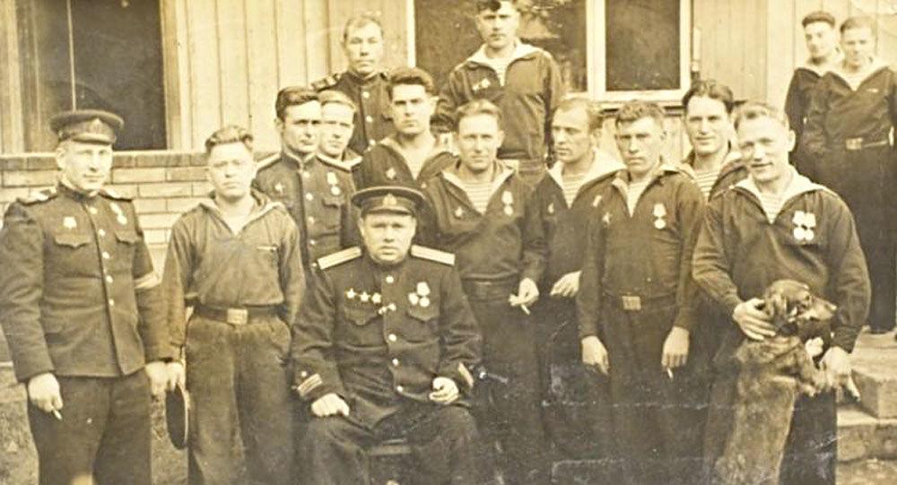 Ivan Prochvatilov s bojovníky