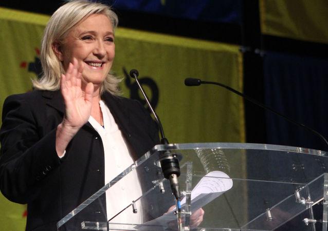Francouzská nacionalistická politička a právnička Marine Le Penová