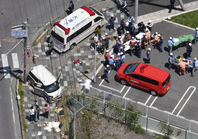V Japonsku auto najelo do skupiny dětí
