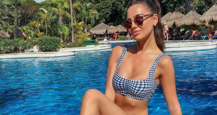 Modelka Veronika Klimovitsová
