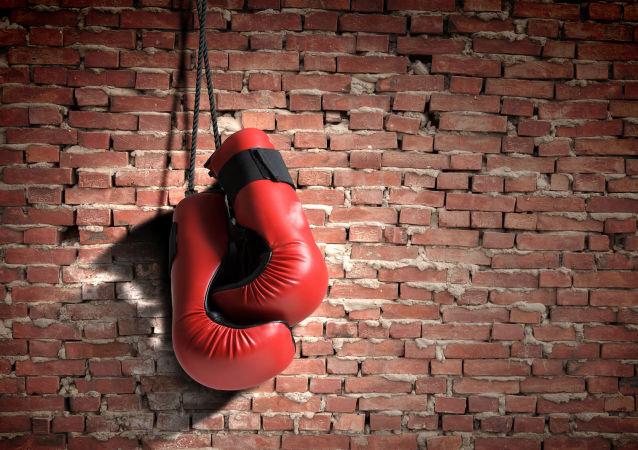 Boxerské rukavice. Ilustrační foto