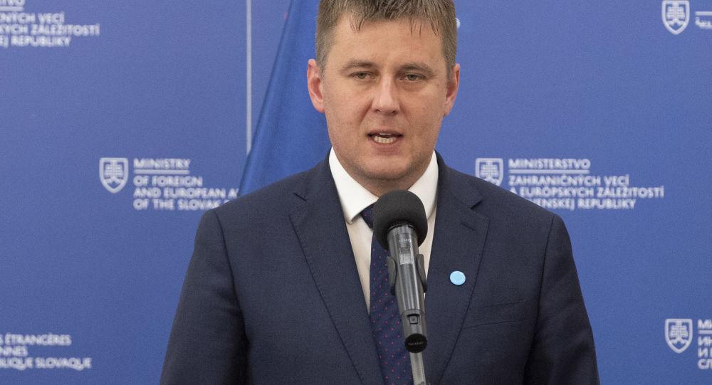 Český ministr zahraničních věcí Tomáš Petříček
