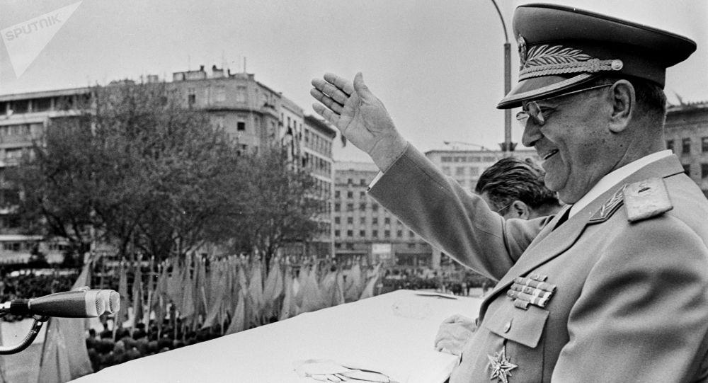Bývalý prezident Socialistické federativní republiky Jugoslávie Josip Broz Tito