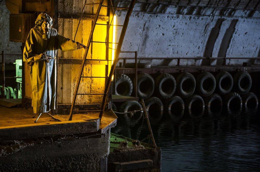 Prohlídka supertajné základny ponorek v Balaklavě
