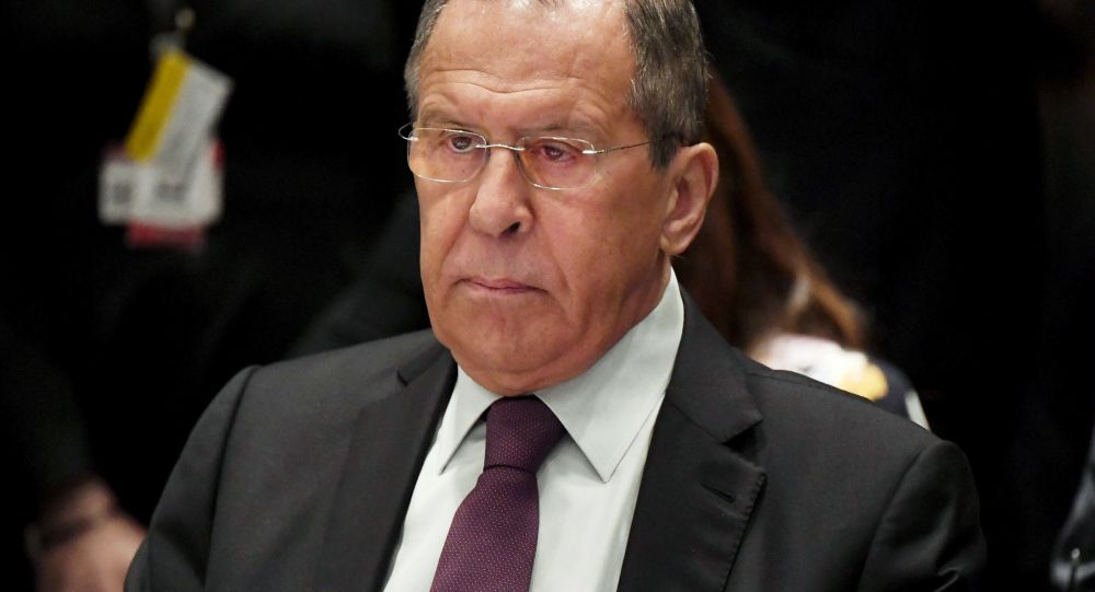 Ruský ministr zahraničí Sergej Lavrov na schůzi ministrů zahraničních věcí Rady Evropy v Helsinkách