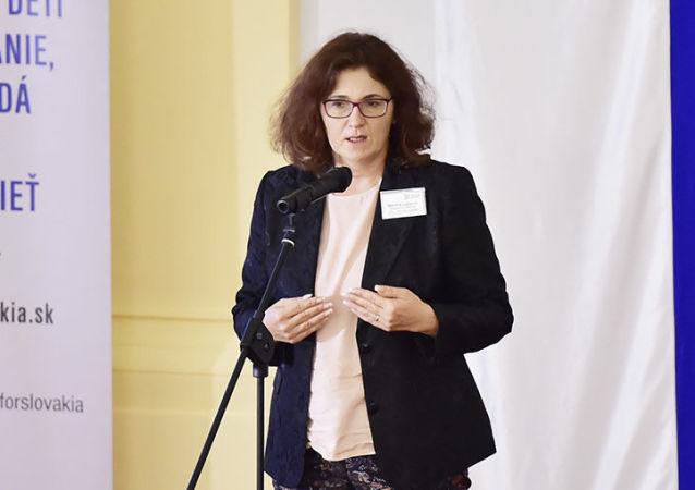 Slovenská ministryně školství Martina Lubyová