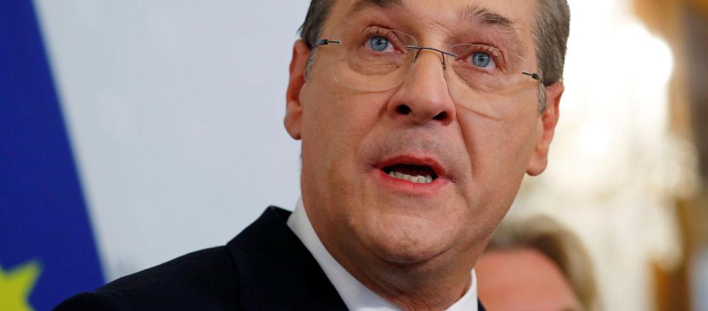 Bývalý rakouský vicekancléř Heinz-Christian Strache