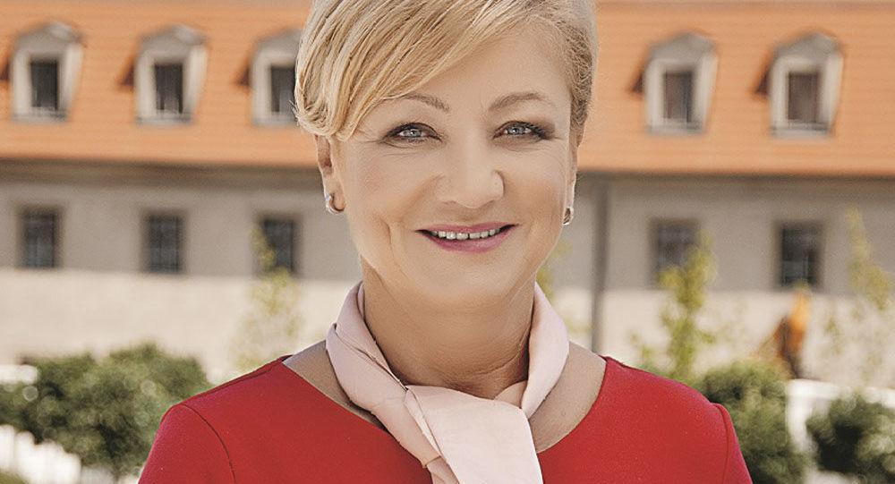 Ministryně kultury Slovenska Ľubica Laššáková