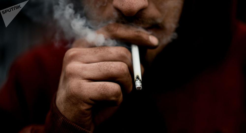 Kouřící muž