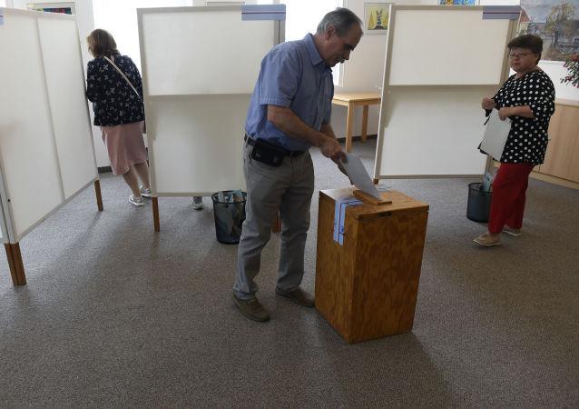 Pražané hlasují ve volbách do Evropského parlamentu
